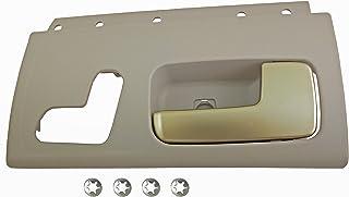 Dorman 80469 Front Passenger Side Interior Door Handle for Select Lincoln Models, Beige and Chrome