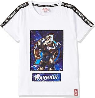 Marvel Boys TU8841 Boys fashion S/Slv t-shirt