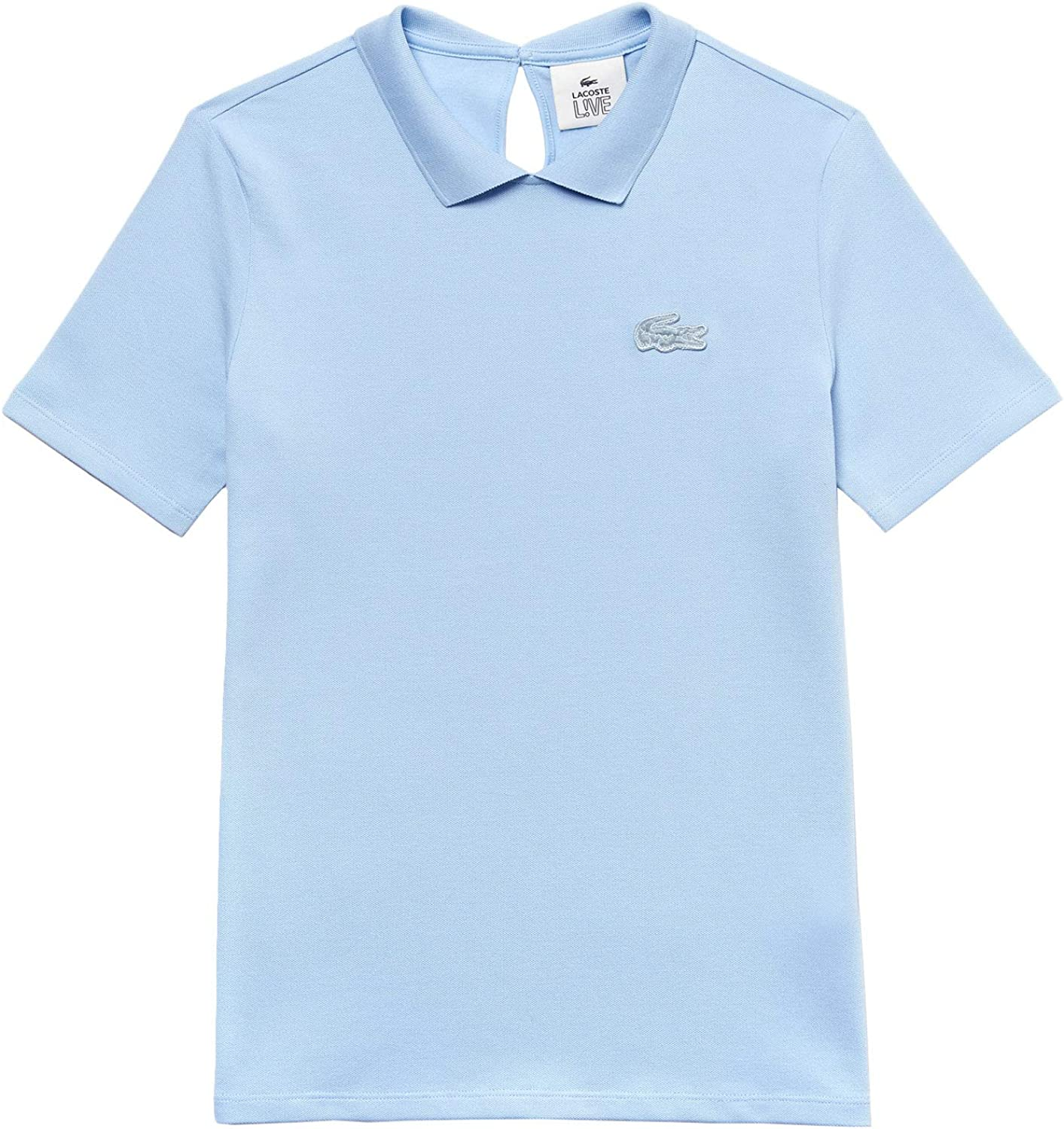 Max 53% OFF Lacoste Live - Polo Shipping included Sleeve PF262700G5J Women Short