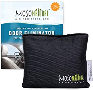 MOSO NATURAL: The Original Car Air Purifying Bag. The Safest Car Air Freshener on the Market. For Cars, Trucks and SUVs. A...