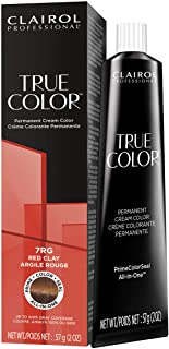 Sponsored Ad - Clairol Professional TRUE COLOR Permanent Cream Hair Color for GLOSSING and TONING with 100% Gray Coverage