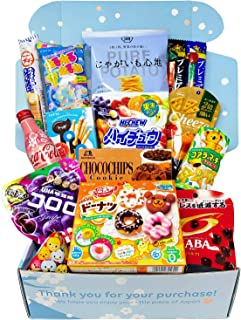 Sakura Box Premium Selection Japanese Candy Chocolate Snacks Drink (Ichi)