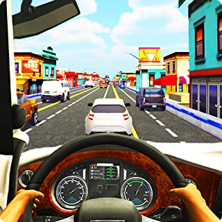 Traffic Rider Truck In NY Race 2019 : Traffic rider drag top speed car card crazy drift racing simulator mania new york street outlaw offroad driving game 2018
