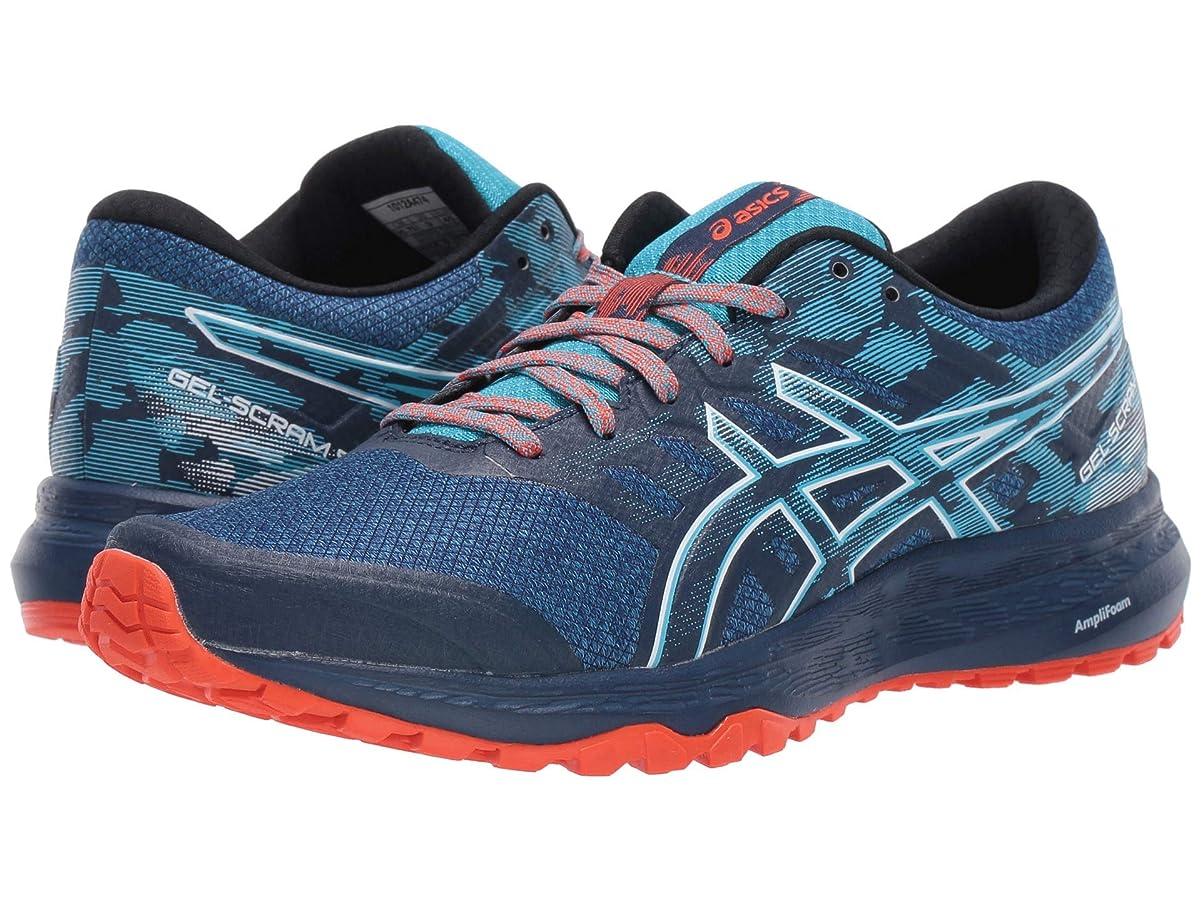 [アシックス] レディースランニングシューズ?スニーカー?靴 GEL-Scram 5 Blue Expansion/White 10 (26.5cm) B [並行輸入品]