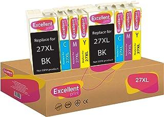 Excellent Print 27XL T2711 T2712 T2713 T2714 Compatible Cartuchos de Tinta para Epson Workforce WF-3620DWF WF-7110DTW WF-7620DTWF