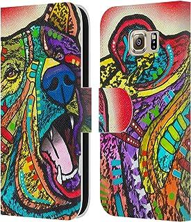 Head Case Designs Licenciado Oficialmente Dean Russo Oso rugiente Vida Silvestre 4 Carcasa de Cuero Tipo Libro Compatible ...