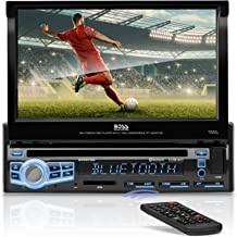 BOSS Audio Systems BV9976B Car DVD Player – Single Din, Bluetooth Audio and..