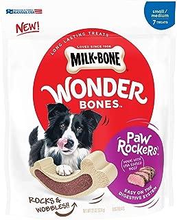 Milk-Bone Wonder Bones Paw Rockers Dog Treats, Long Lasting