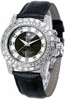 [ジョン・ハリソン]J.harrison 腕時計ソーラー電波シャーニング皮ベルト紳士用 JH-097SB メンズ 【正規輸入品】