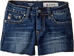 AG Adriano Goldschmied Kids - The Shelby Fray Shorts w/ Raw Hem in 7 Year Break (Big Kids)