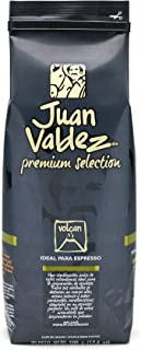 Juan Valdez Coffee Intense Volcan Espresso Dark Roast Whole Bean Colombian Coffee 17.6 oz