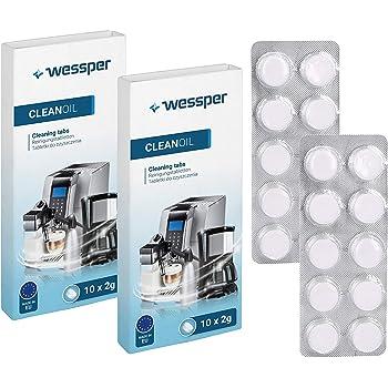 Pastillas para limpieza cafeteras 120 tabletas con un peso de 2,0 ...