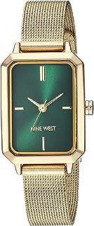 Nine West NW/2342GNGP - Reloj de pulsera para mujer, color dorado