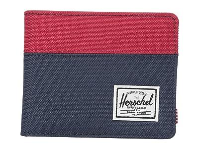 Herschel Supply Co. Hank RFID (Navy/Red) Wallet Handbags