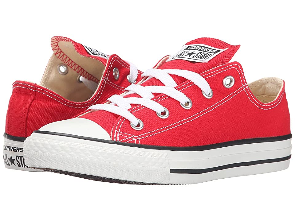 Converse Kids Chuck Taylor(r) All Star(r) Core Ox (Little Kid) (Red) Kids Shoes