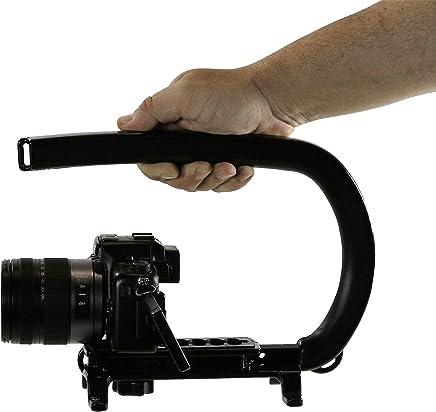 Cam Caddie Scorpion EX - Asa estabilizadora para cámara de vídeo Nikon, Canon, JVC, Toshiba, Sony, Olympus, Pentax, Apple iPhone, GoPro Hero 4, Hero 3+, Hero 3 y más