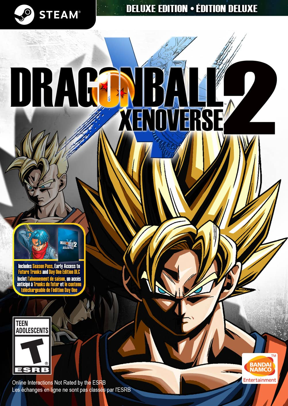 Dragon Ball Xenoverse 2 Deluxe Edition Online Game Code product image