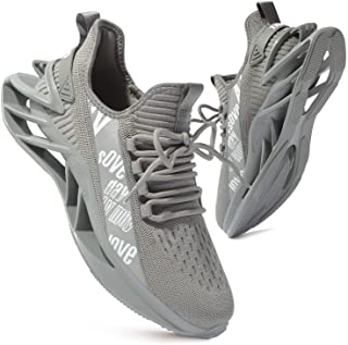 Men's Running Sports Walking Shoes Mesh Lightweight Breathable Athletic Jogging Fashion Sneakers