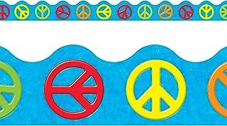 Trend Enterprises Inc. Peace Signs Terrific Trimmers, 39 ft