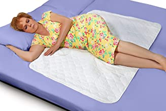 """Premium Quality Bed Pad, Quilted, Waterproof, and Washable, 34"""" x 52"""" The Best Underpad Sheet Protector for Children or Adults with Incontinence (1 Pack)"""