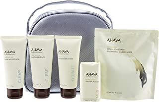Ahava Purifying Mud For Face and Body Gift Set, 4 count