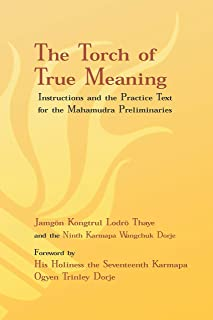 Torch of True Meaning: Instructions and the Practice for the Mahamudra Preliminaries