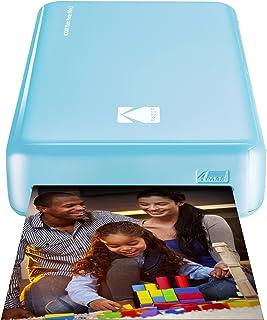 Kodak - Impresora fotográfica mini 2HD instantánea inalámbrica y portátil con tecnología de impresión patentada 4Passcompatible con iOS y Android azul