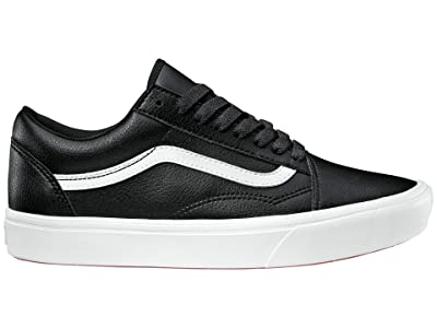 Vans Comfycush Old Skool ((Classic Tumble) Black) Athletic Shoes