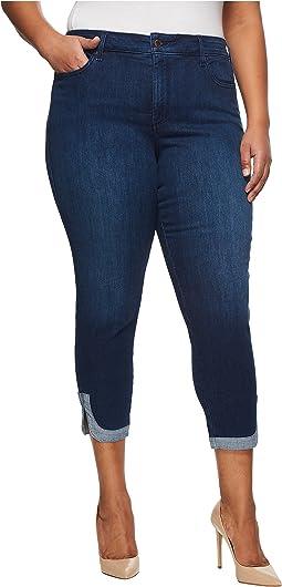 NYDJ Plus Size - Plus Size Ami Skinny Ankle w/ Dolphin Hem in Cooper