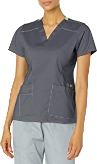 WonderWink Women's Wonderflex Verity Scrub Top