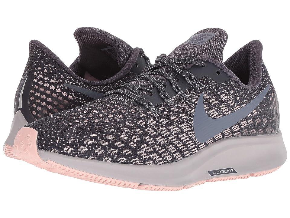 Nike Air Zoom Pegasus 35 (Gridirion/Light Carbon/Storm Pink) Women