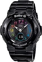 [カシオ] 腕時計 ベビージー 電波ソーラー BGA-1110GR-1BJF ブラック