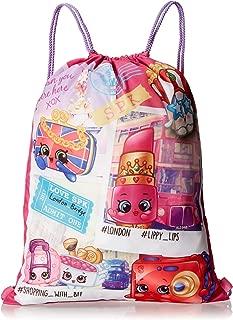 Shopkins Drawstring Book Backpack