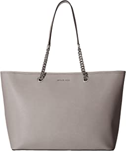 Jet Set Travel Chain Medium Top Zip Multifunction Tote