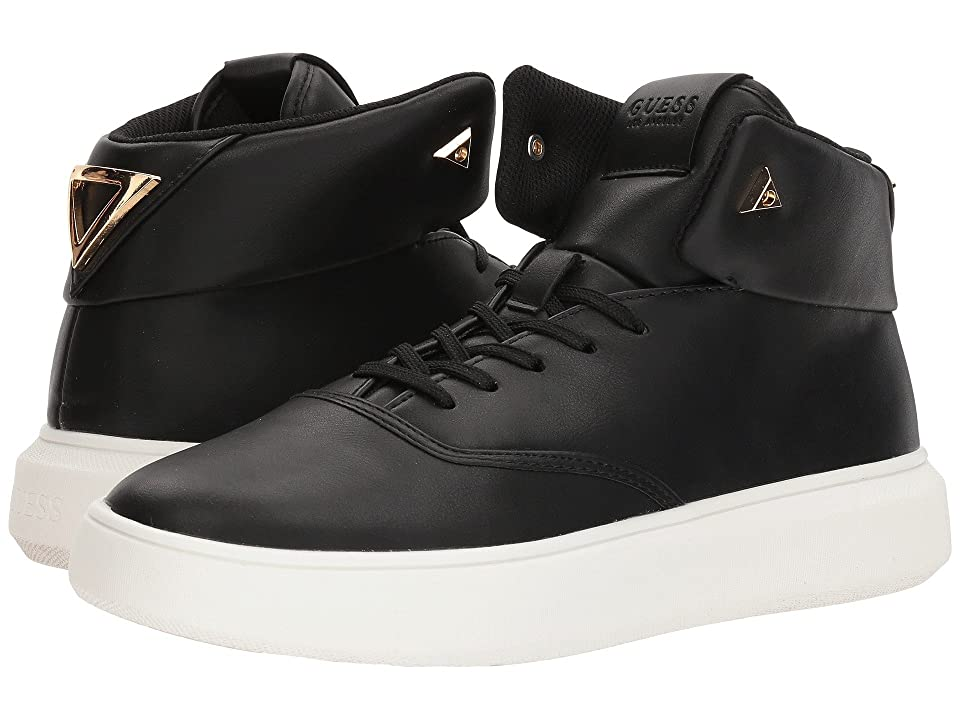 GUESS Draymind (Black Synthetic) Men