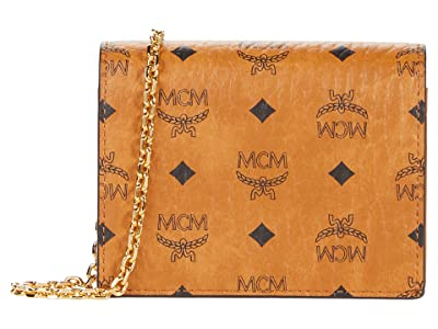 MCM Visetos Original Flap Wallet/Two-Fold Mini