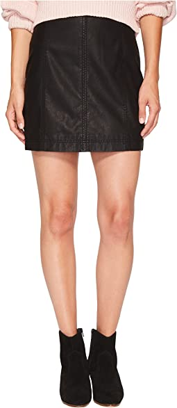 Free People - Modern Femme Vegan Mini Skirt