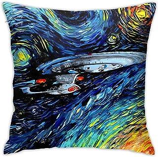 Hangdachang Star Trek - Funda de cojín para sofá cama (45 x 45 cm)