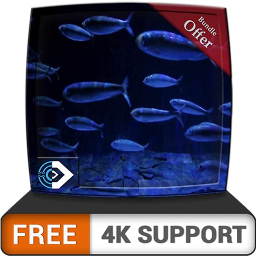 Acuario de peces en HD gratis: disfruta de la carrera de peces...