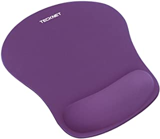 TeckNet Ergonomic Gaming Office Mouse Pad Mat Mousepad with Rest Wrist Support - Non-Slip Rubber Base - Special-Textured S...