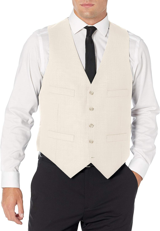 Kenneth Cole New York mens Slim Fit Suit Separate Vest