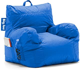 Comfort Research Dorm Bean Bag Chair, Sapphire Blue