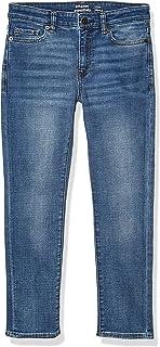 Amazon Essentials Boys' Slim-Fit Jeans, Doppler/Light Wash, 10S US