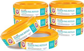 Munchkin Arm and Hammer Diaper Pail Refill Rings, 8ct (holds up to 2,176 diapers)