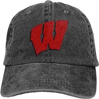 Wyoming School Team Co-Wboy - Sombrero de béisbol para papá, color negro