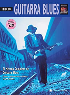Guitarra Blues Inicio: Beginning Blues Guitar (Spanish Language Edition), Book & CD (Complete Method) (Spanish Edition)
