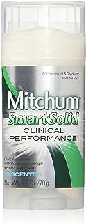 Mitchum Smart Solid Anti-Perspirant Deodorant Unscented 2.50 oz
