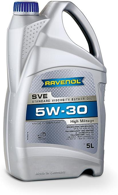Ravenol Sve Standard Viscosity Ester Oil Sae 5w 30 Auto