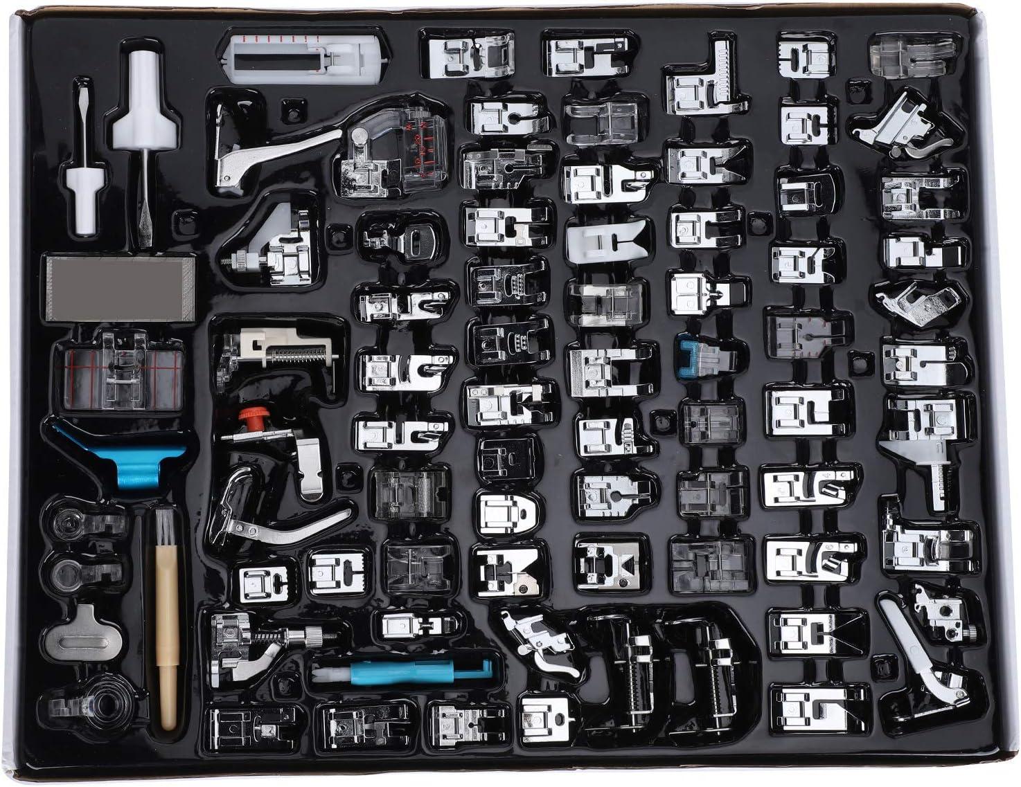 Yivibe Presser Foot Set Kit San Jose Mall 82Pcs Albuquerque Mall Sewing Machine