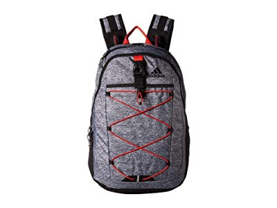 adidas Ultimate ID Backpack (Onix Jersey/Active Red/Black) Bags